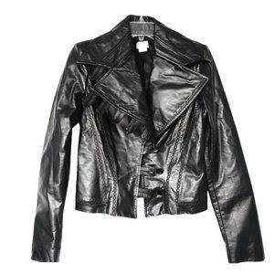 NWOT - Antonio Berardi Women's Leather Jacket